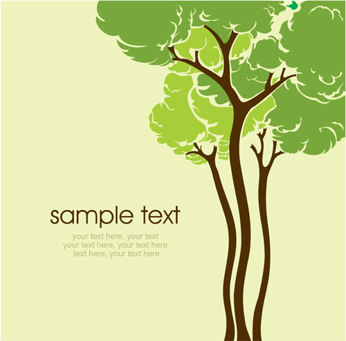 Background Trees Photoshop Trees Background Vector 03