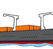 Link toDifferent cargo ship design vector graphic 01