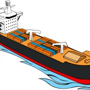 Link toDifferent cargo ship design vector graphic 02