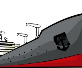 Different Cargo ship design vector graphic 03