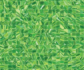 Colorful mosaic background vector set 02