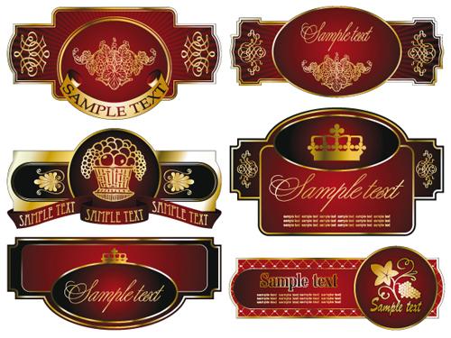 Labels Color Color Luxurious Labels Mix
