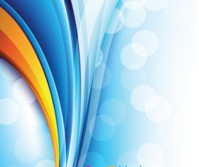 Dynamic Colored backgrounds vector set 01