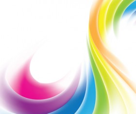 Dynamic Colored backgrounds vector set 04