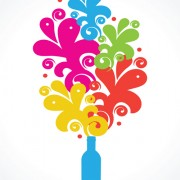 Link toColors floral object vector backgrounds 01