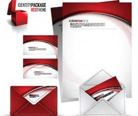 Corporate style cover design elements vector set 02