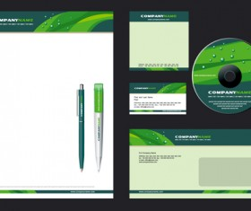 Corporate style cover design elements vector set 03