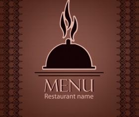 Creative restaurant menu cover design vector 01