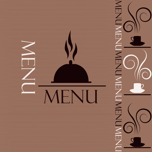Restaurant menu design cover