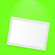 Link toSet of empty frame hanging on the wall vector graphic 01
