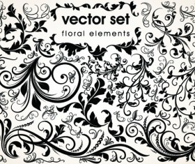 Floral Design Ornaments elements mix vector 03