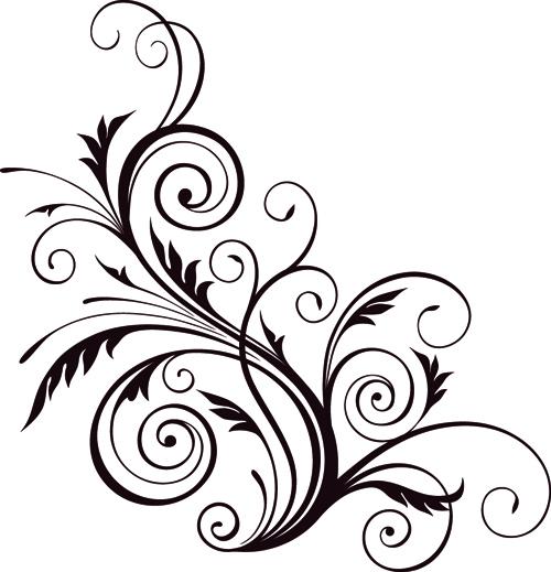 floral design ornaments elements mix vector 05 free download