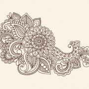 Link toSet of pretty floral ornaments design vector 04