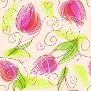 Link toSet of different flower pattern elements vector 02