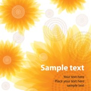 Link toSet of different flower pattern elements vector 06