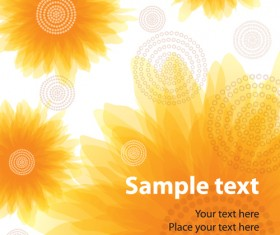 Set of different Flower Pattern elements vector 06