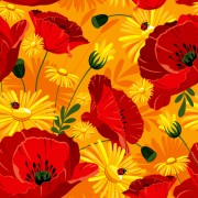 Link toSet of different flower pattern elements vector 08