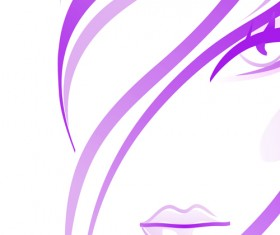 Hairdresser and  beauty salon theme vector background 06