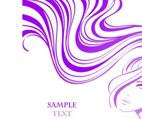 Hairdresser and  beauty salon theme vector background 09