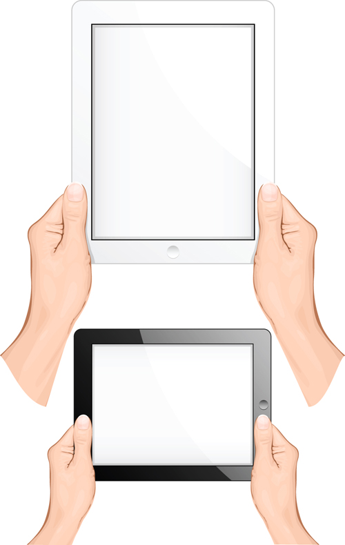 Different Hands gesture design vector 01