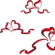 Link toCreative heart from red ribbon design vector 03