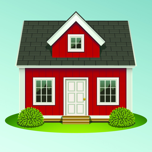 Creative of houses design elements vector 03 vector for Picture of my home