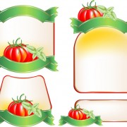 Link toSet of products labels templates vector 04
