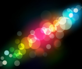 Abstract backgrounds with Light design vector 01