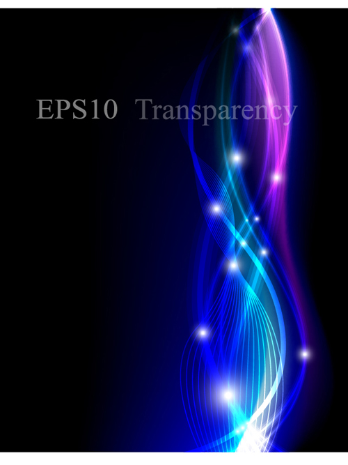 Abstract backgrounds with Light design vector 02