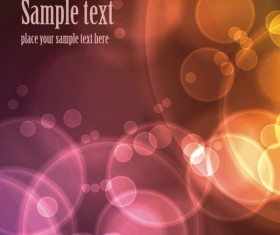 Abstract backgrounds with Light design vector 05