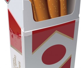 No Smoking Warning elements vector set 02
