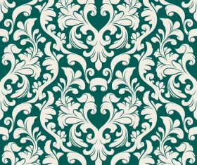 Set of Seamless Ornament pattern design vector 02