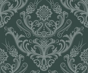 Set of Seamless Ornament pattern design vector 03
