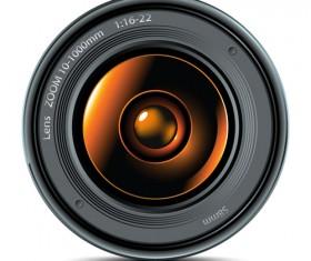 Camera accessories design vector 01