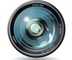 Camera accessories design vector 05