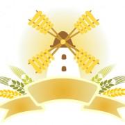 Link toGolden wheat vector background set 04