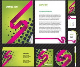 Set of Business Kit mix vector graphic