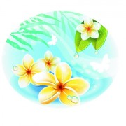 Link toSet of different spa design elements vector art 05