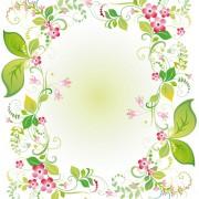 Link toVector of spring fresh flower frame set 08