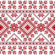 Link toUkraine style fabric ornaments vector graphics 11
