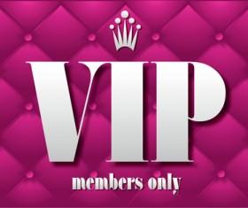 Set of Senior VIP cards design vector 01