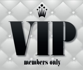 Set of Senior VIP cards design vector 02