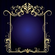 Link toVintage style luxury frame vector set 01