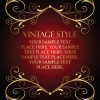 Vintage style Luxury Frame vector set 04
