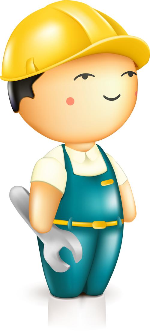 free clipart maintenance worker - photo #23