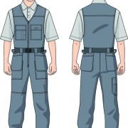 Link toVarious building workers design elements vector 05