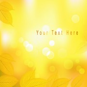 Link toYellow autumn leaves vector backgrounds set 03