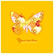 Link toColorful abstract butterfly elements vector 05