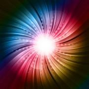 Link toRainbow swirls vector background 05