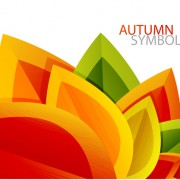 Link toSet of charm autumn  backgrounds vector 01